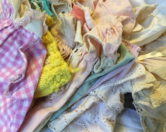 Collection of Vintage Doll Clothes and Vintage Baby Clothes