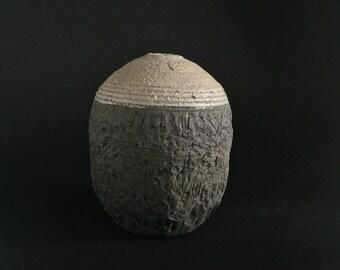 Vintage Handmade Vase - Mid Century Modern Pottery