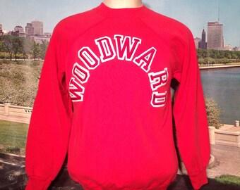 1980's WOODWARD Champion brand sweatshirt, fits like a medium