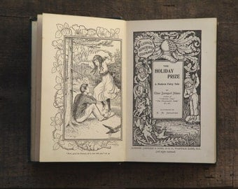 Holiday Prize, antique book by Ellinor Davenport Adams illustrated by K. M. Skeaping