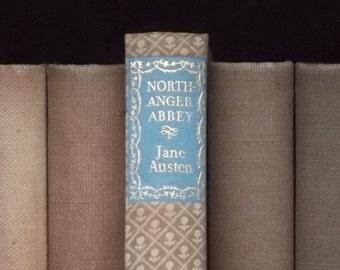 Northanger Abbey vintage book by Jane Austen 1940s book