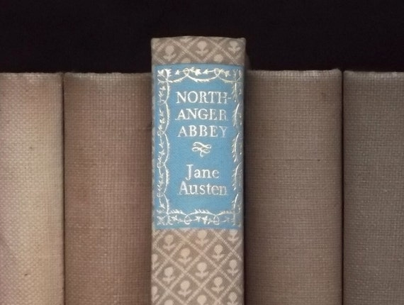 Northanger Abbey vintage book by Jane Austen 1940s book