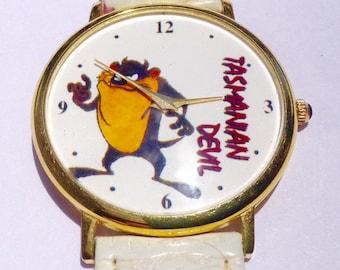 Tasmanian Devil watch Cartoon wrist watch Midsized Wrist Watch