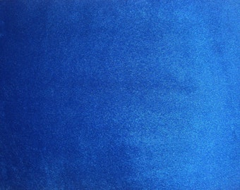"Faux Fake Fur Solid Velboa  Fabric by the Yard royal 60"" wide baby clothes, costumes, teddy bears"