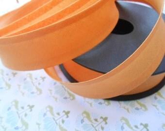 """Bias Tape Binding Cotton Tangerine 1""""width 10Yards"""