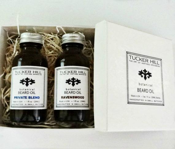 beard gift set beard oil your choice of scents by tuckerhilltx. Black Bedroom Furniture Sets. Home Design Ideas