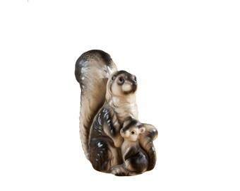 Ceramic Skunk Figurine - Japan