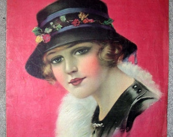 PRETTY GIRL Vintage Sheet Music 1920 I'll Be Your Regular Sweetie by Fred Rose