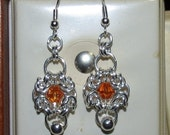 Romanov Unit Chainmaille Earrings
