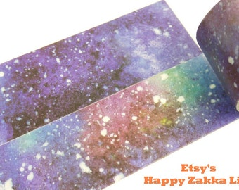 Space Debris - Japanese Washi Masking Tape - 30mm Wide - 11 Yards