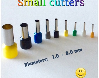 Polymer clay tool. Cutting tool.Texturing tool. Mini-cutters. Small cutters.