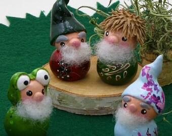 Gnome Figurine Set | Gnome Figurines| Gnomes  | Limited Edition | Garden Gnomes | Seasonal Gnomes | Spring, Summer, Fall and Winter Gnomes