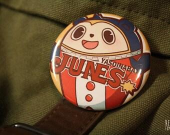 persona 4 junes teddie button