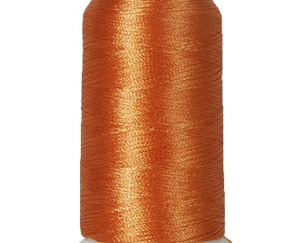 No. 162 (Almond) 1000m Polyester Spool of Embroidery Machine Thread