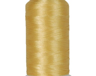No. 159 (Soft Gold) 1000m Polyester Spool of Embroidery Machine Thread