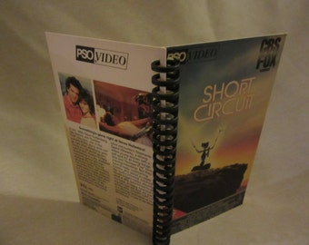 Short Circuit VHS box notebook
