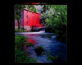 Tissue Box Cover Red Mill at Alley Spring