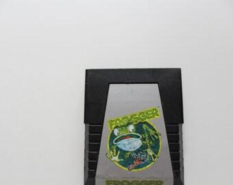 Vintage Frogger Atari Game 1982