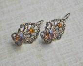 Vintage Metal earrings.