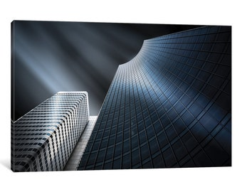 iCanvas Xenon Gallery Wrapped Canvas Art Print by Holger Glaab