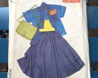 Vintage Esprit dress making pattern, Simplicity 7269