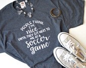 Soccer Mom Hand Lettered Graphic T-Shirt/Tank