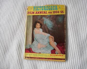 Picturegoer Film Annual  Book Vintage 1954 55  Retro Film