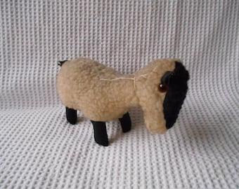 Sheep  Mini Lamb Shabby Chic  Made in Ireland Vintage Super Cute