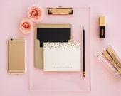 Suit & Tie Personalized Stationery Set