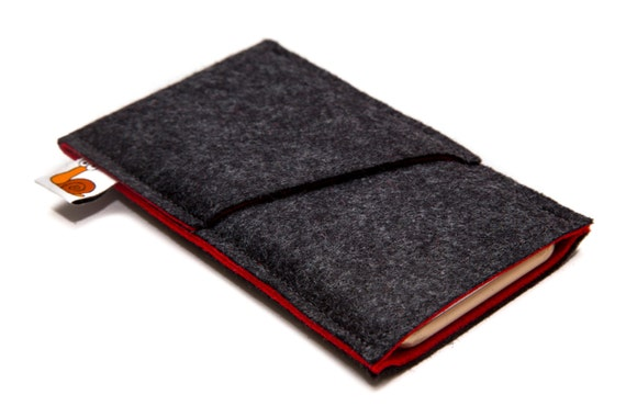 iPhone 7 wallet, Handmade smartphone sleeve, iPhone 7 Case, iPhone 6S Sleeve, iPhone 7 Plus Case, iPhone 6S case