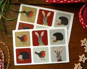 Mini-stickers Noël