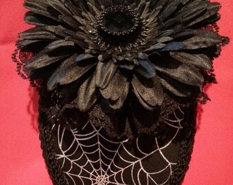 Spider Web Teardrop Hat