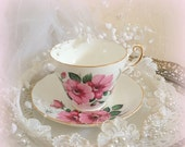25% YR END SALE Regency Tea Cup and Saucer -  Bone China - Made in England