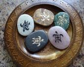 TURTLE Gemstone Animal Spirit Totem for Spiritual Jewelry or Crafts