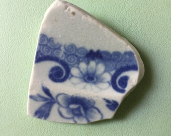 Rare 'Beach Pottery' shard