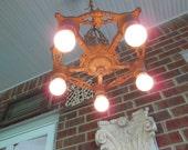 Antique Ceiling Light Art Deco Chandelier Light Fixture