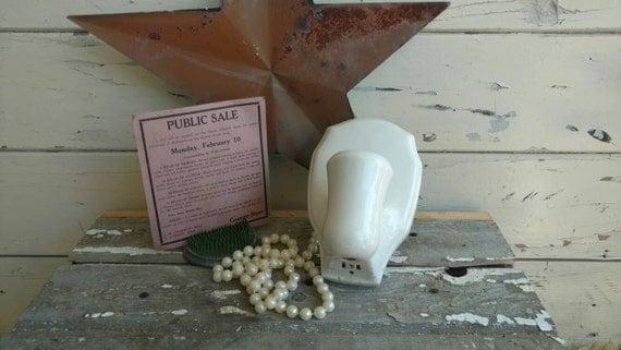 Vintage White Porcelain Wall Sconces: White Porcelain Light Fixture Antique Lighting Decor