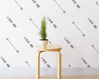 Tribal Arrows | Removable Wall Decal & Sticker for Home, Office, Nursery | LSB0226VCC-S