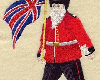 Royal Guard Santa