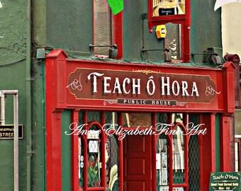 Ireland Photography, Pub Art, County Mayo, Irish Pub Art, Irish Pub Art, Irish Pub Decor, Bar Art, Travel Art, Ireland Art, Irish Decor