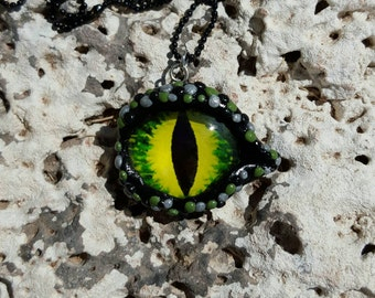 Dragon Eye Pendant Necklace