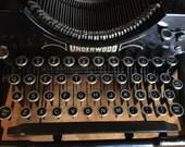 No. 5 Underwood Typewriter