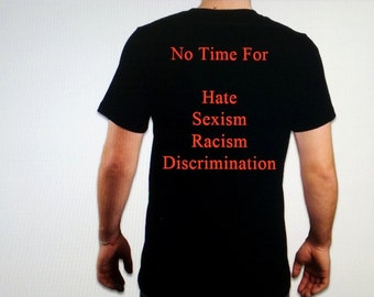 No Hate Tee Shirts (free shipping)