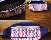 Festival fanny pack / Bum Bag two toned