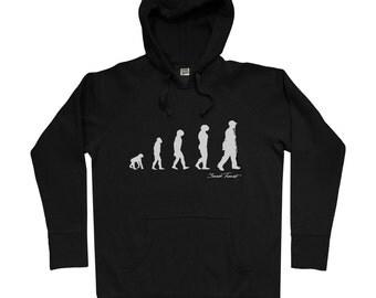Revolution Hoodie - Men S M L XL 2x 3x - Hip Hop Hoody, Sweatshirt, DJ, Rap Music, Funk, Evolution - 4 Colors