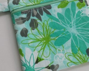 Zippered wet bag cosmetic pouch  by EcoAlternatives St. Croix