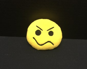 Emoji Not Sure Dog Toy