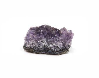 Amethyst Druzy Specimen Natural Raw Crystal Cluster 34mm x 28mm Miniature Rough Purple Stone (Lot 9675) Mineral