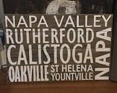 Napa Valley Subway Art