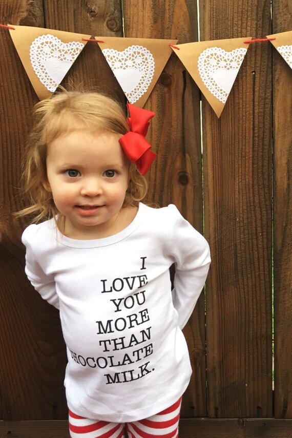 Cute valentine shirt for girl or boy cute kids graphic tee shirt on